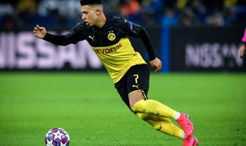 Манчестър Юнайтед иска лизинг за Санчо от Борусия Дортмунд