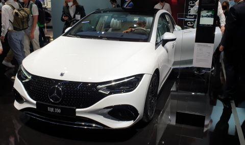 Mercedes извади конкурент на Tesla Model S - 1