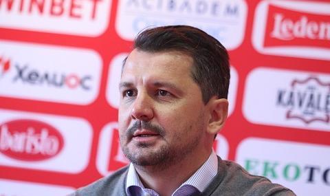 Треньорът на ЦСКА: Бяхме по-добри от Левски, но...