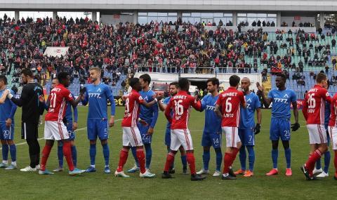 Вечното дерби между Левски и ЦСКА завърши без победител (ВИДЕО)