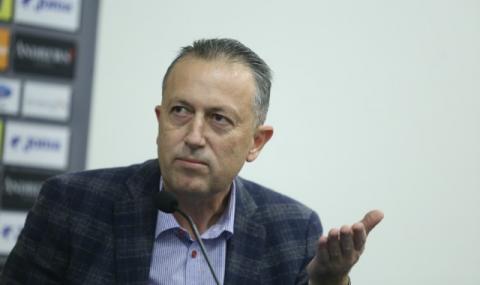 Вицепрезидентът на БФС: Имаме вяра в Георги Дерменджиев