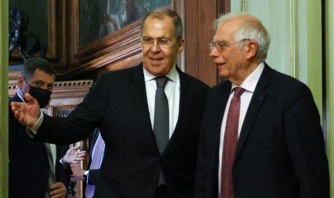 Борел: Изглежда, че Русия постепенно се изключва от Европа