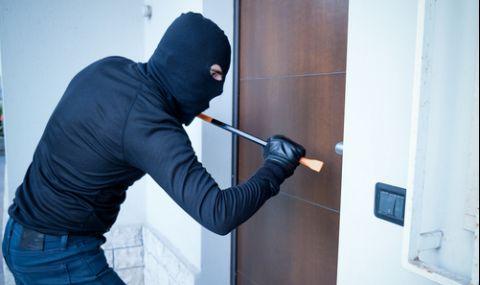 Над 2000 домови кражби в страната за първите пет месеца на 2021-ва
