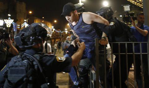 Тежки сблъсъци между палестинци и израелската полиция