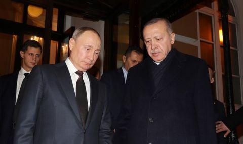 Путин и Ердоган правят първа копка на АЕЦ