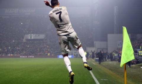 Киелини: Роналдо е като Федерер и Болт