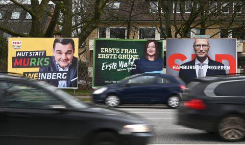 Германските социалдемократи увеличават преднината си пред консерваторите на Меркел - 1