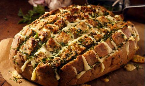 Рецепта на деня: Пълнен хляб