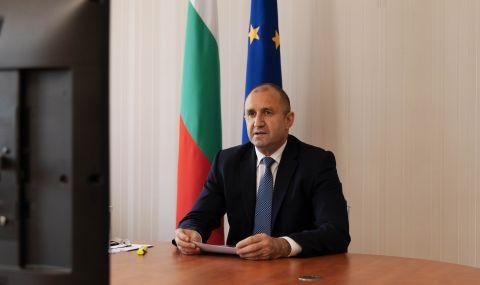 Радев: Подкрепяме европейската интеграция на Северна Македония