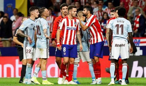 Атлетико Мадрид направи нова издънка в Ла Лига
