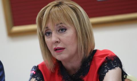 Манолова: Партии да не говорят от мое име!