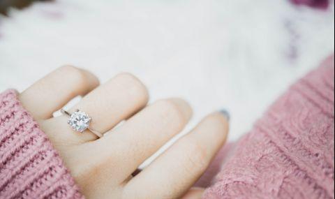 На коя ръка се носи годежният пръстен? - 1