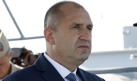 Румен Радев разговаря с председателя на