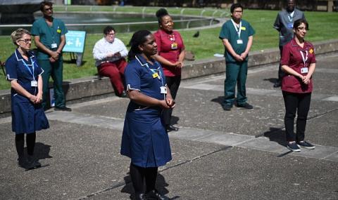 Ръст на новите случаи на Covid-19 за денонощие във Великобритания
