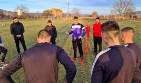 Димитър Бербатов предизвика фурор сред играчите на Етър - 1