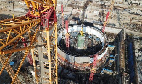 """Монтираха корпуса на реактора на първи енергоблок в АЕЦ """"Аккую"""""""