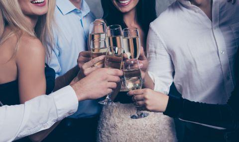 Партита с хайвер и шампанско по време на локдаун