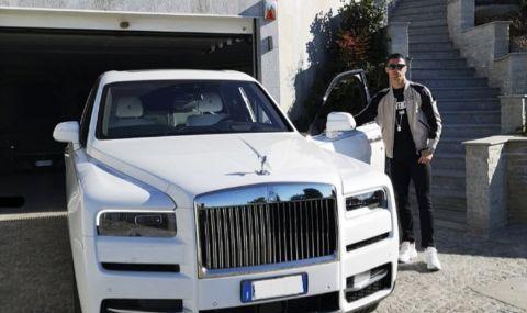 Какви коли се крият в гаража на Кристиано Роналдо? - 1