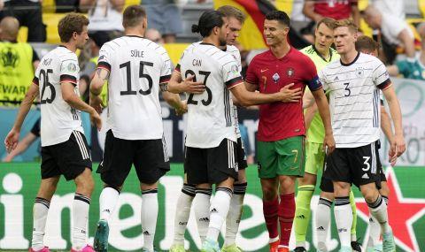 С попадението си срещу Германия звездата Роналдо изравни пореден велик рекорд - 1
