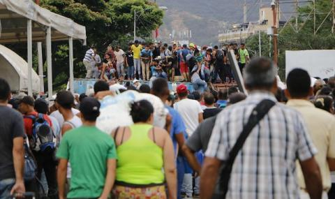 Венецуела: отчаяние, глад и бедност