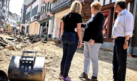 Колко струва наводнението на века в Германия?