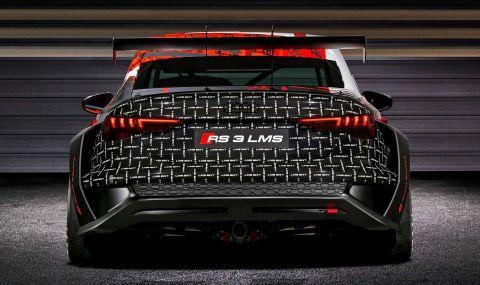 Audi RS3 LMS е машина за пистата с брутален външен вид - 11