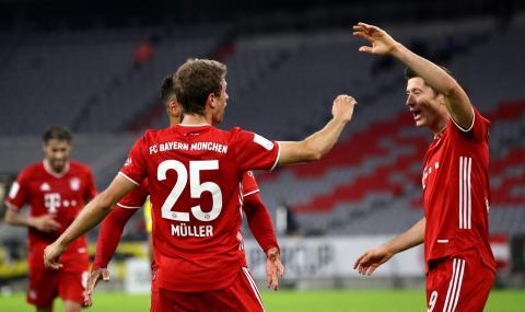 Байерн Мюнхен грабна още един трофей: Рекордна осма Суперкупа на Германия!