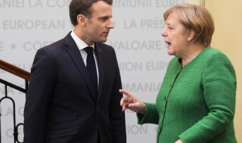 Германия и Франция  в битка за ЕС
