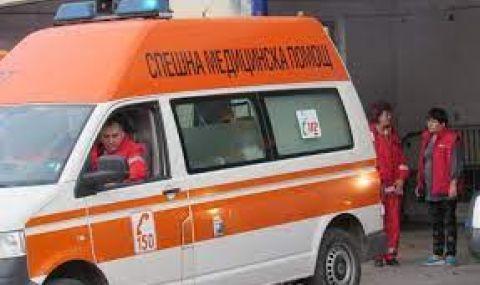 Катастрофа с ранени спря движението в Прохода на Републиката - 1