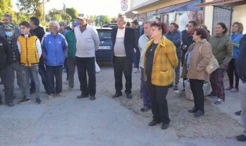 Село в Монтанско на протест заради проблеми с тока - 1