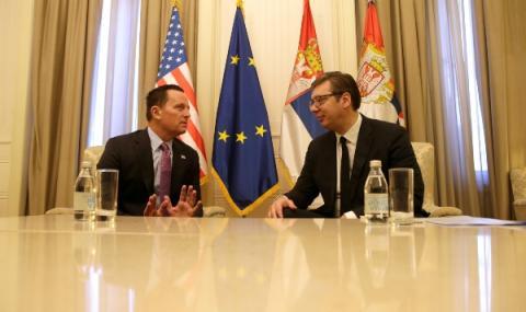 САЩ искат диалог между Сърбия и Косово