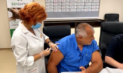 Бойко Борисов се ваксинира на живо (ВИДЕО) - 1