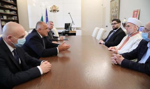Борисов се срещна с главния мюфтия д-р Мустафа Хаджи - 3