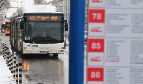 Без нощен транспорт на Нова година в София