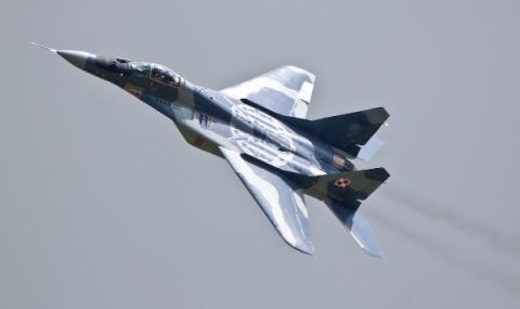 МиГ-29 се разби в Каспийско море