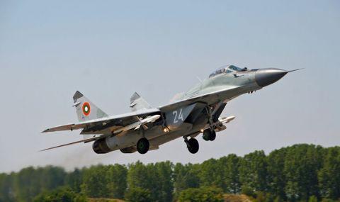 България отвори небето си за самолети на НАТО