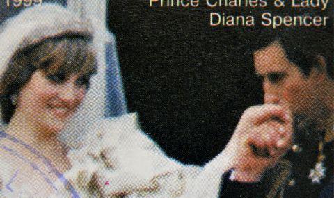 Продадоха на търг парче от сватбената торта на принцеса Даяна и принц Чарлз - 1
