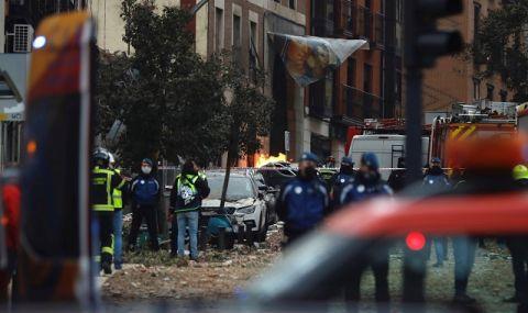 Българският гражданин, загинал при експлозията в Мадрид, минавал случайно пред сградата