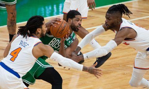 Машини! Ню Йорк Никс със седма поредна победа в НБА