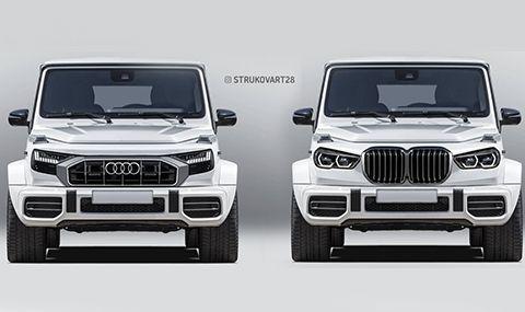 Audi или BMW G-Klasse?