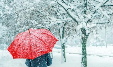 Първи сняг падна в България, ето къде