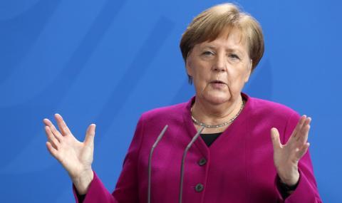 """Меркел към германците: """"Още дълго ще живеем с пандемията от коронавирус"""""""