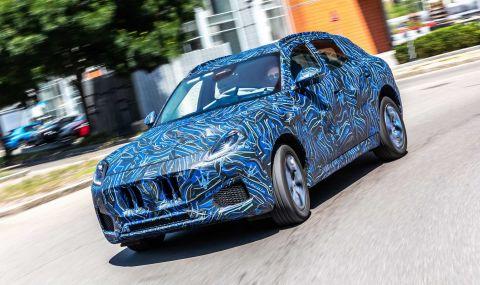 Maserati показа по-ясни снимки на новото си SUV