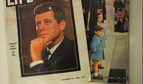 Продават на търг интимни писма на Кенеди до шведската му любовница