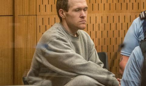 Мъжът, убил 51 мюсюлмани, бе осъден на доживотен затвор