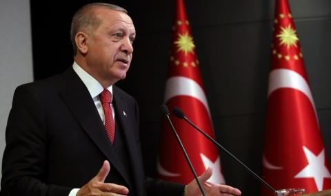 Ердоган твърди, че Турция е преминала пика