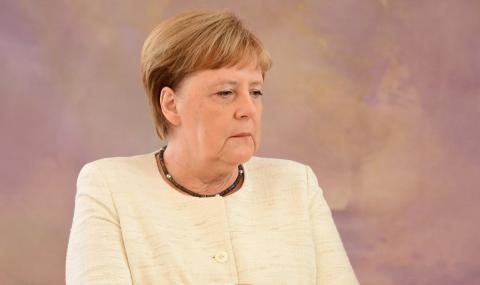 Меркел отново се почувства зле (ВИДЕО)