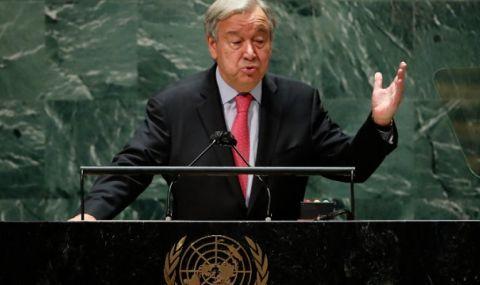 Генералният секретар на ООН настоява САЩ и Китай да водят диалог - 1