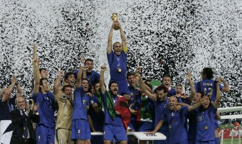 Световните шампиони на Италия за 2006 година дариха четири линейки