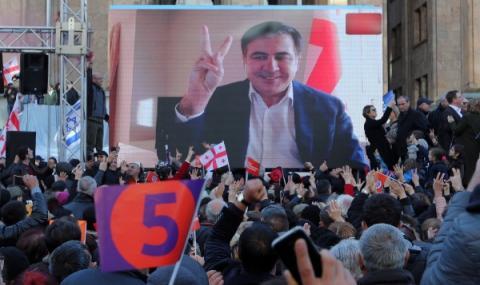 Саакашвили с пост в Украйна
